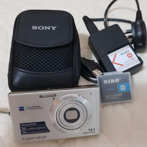 Câmera sony cyber shot 14.1 mega pixels