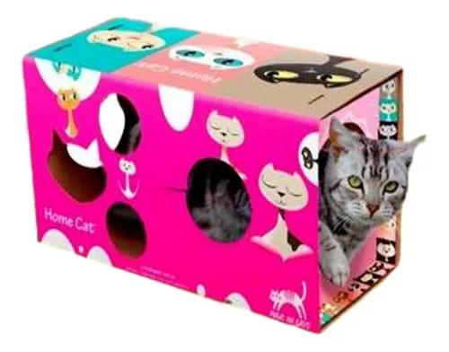 Home cat para gatos linda colorida casinha para gatos