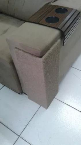 Kit 2 arranhador canto sofá altura 50cm placas mdf 6mm