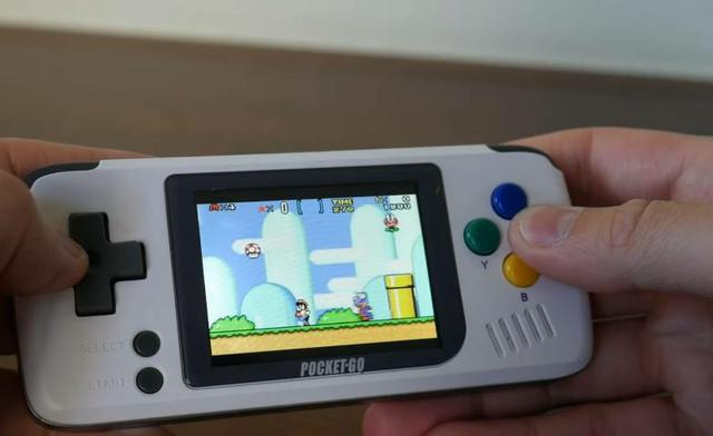 Pocket go video game portatil