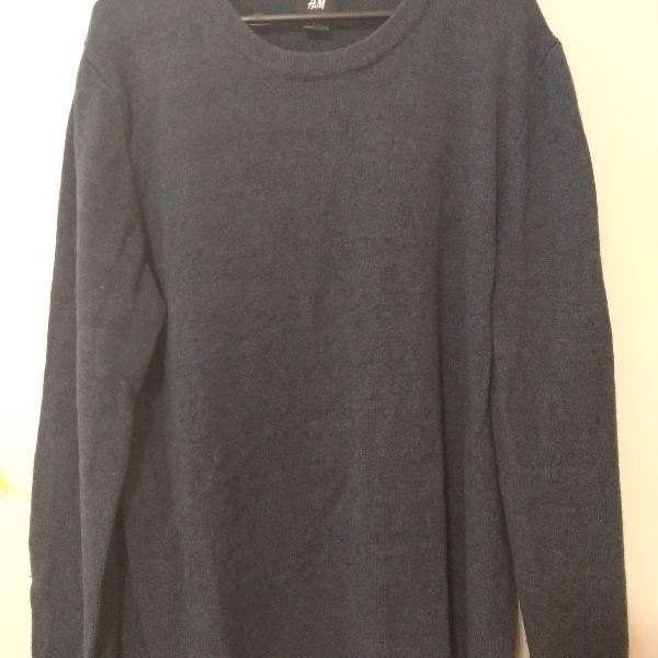 Suéter masculino h&m