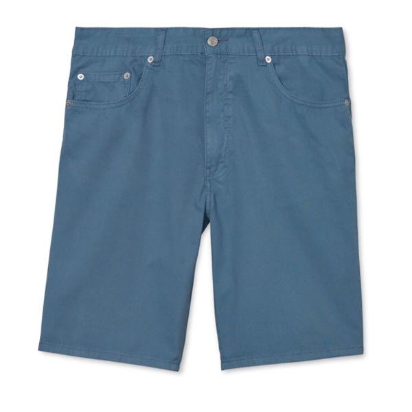 Bermuda jeans relaxed fit, masculina, lacoste