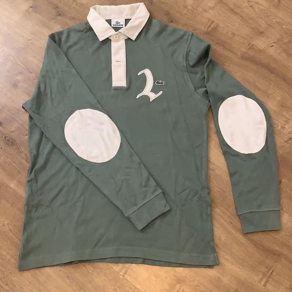 Blusa polo lacoste manga comprida