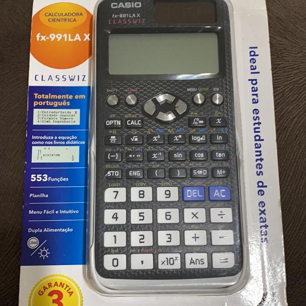 Calculadora científica casio lacrada nunca usada modelo