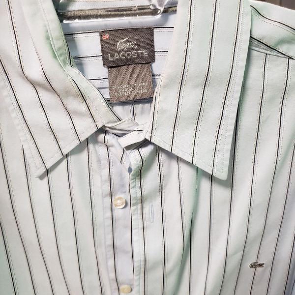 Camisa listrada lacoste