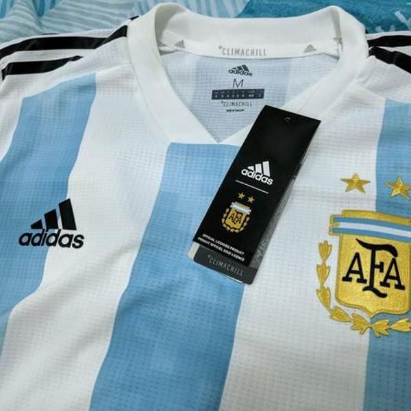 Camisa seleção argentina copa 2018 m oficial