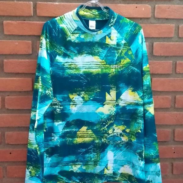 Camisa térmica manga longa para alto inverno ou neve