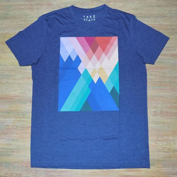 Camiseta aéropostale masculina azul importada eua original