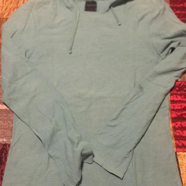 Camiseta blusa manga longa zara