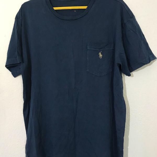Camiseta de malha da ralph lauren