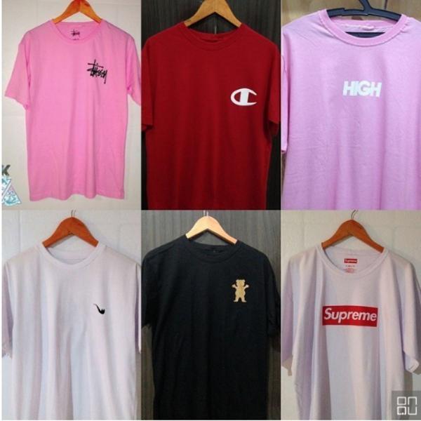 Camisetas varidas