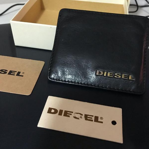 Carteira couro diesel