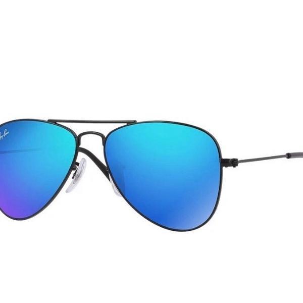 Culos de sol aviator clássico original preto/azul