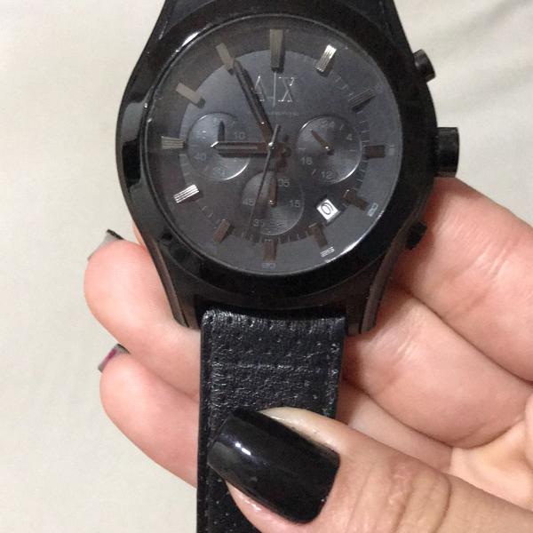 Relógio masculino armani exchange ax2073 preto