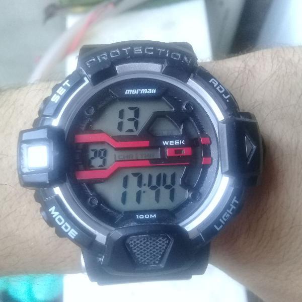 Relógio original da marca mormaii
