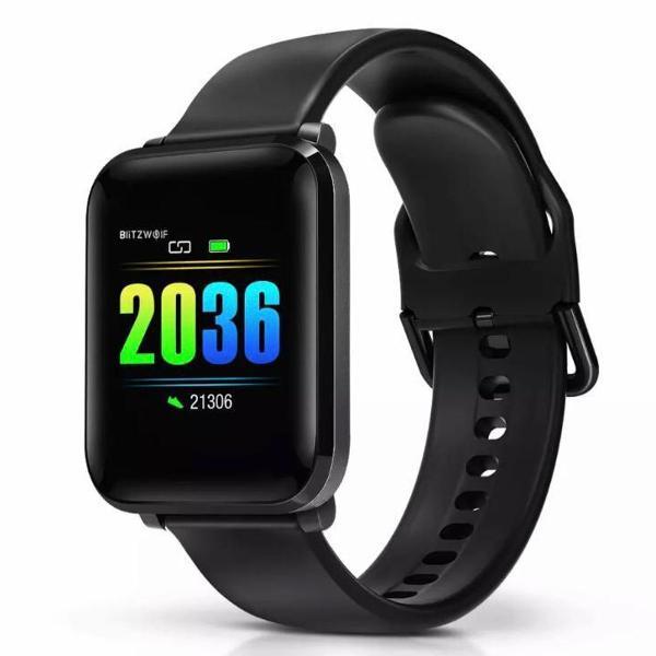 Relógio smartwatch blitzwolf bw-hl1 bluetooth e monitor