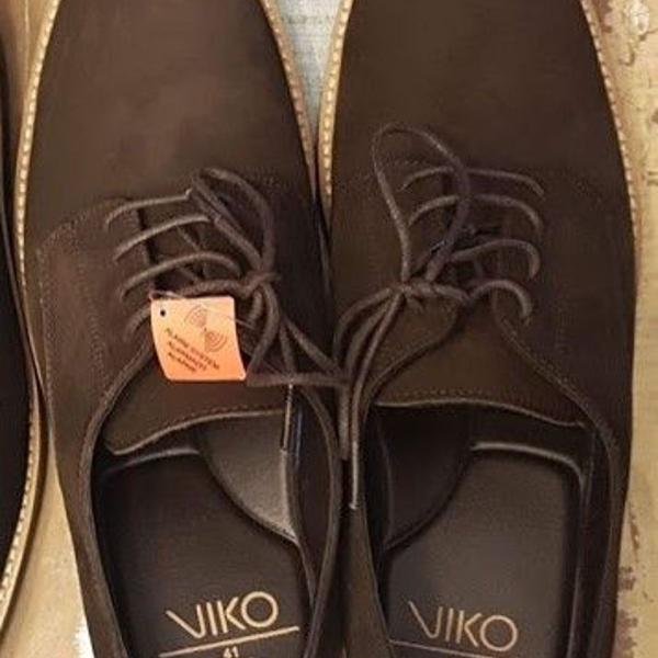 Sapato - em couro - carmuça - marrom - tamanho 41