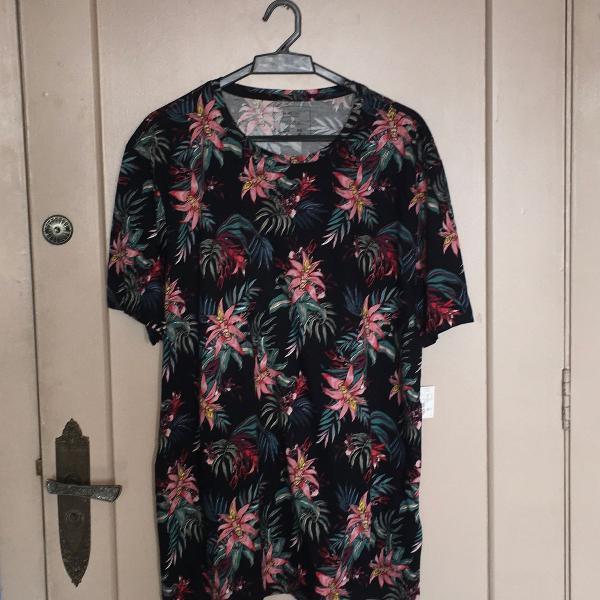 T shirt camiseta preta florida