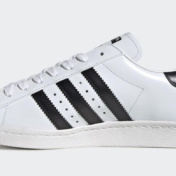 Tênis adidas original.superstar branco/preto masculino