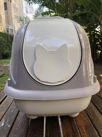 Banheiro gato wc cat box