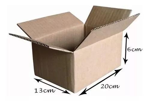 300 caixas de papelão 20x13x06