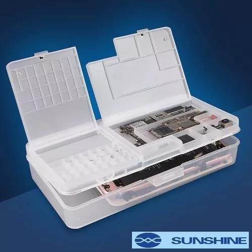 Caixa armazenamento organizadora componentes sunshine ss-001