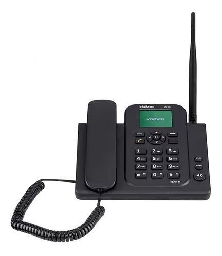 Cfw 8031 telefone celular fixo 3g com wi-fi intelbras