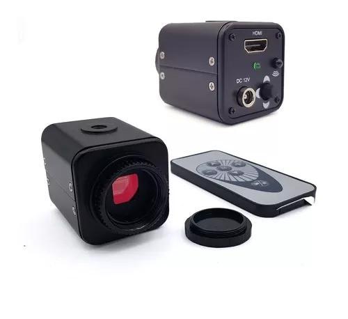 Câmera para microscópio full hd 2000w hdmi 20 megapixel