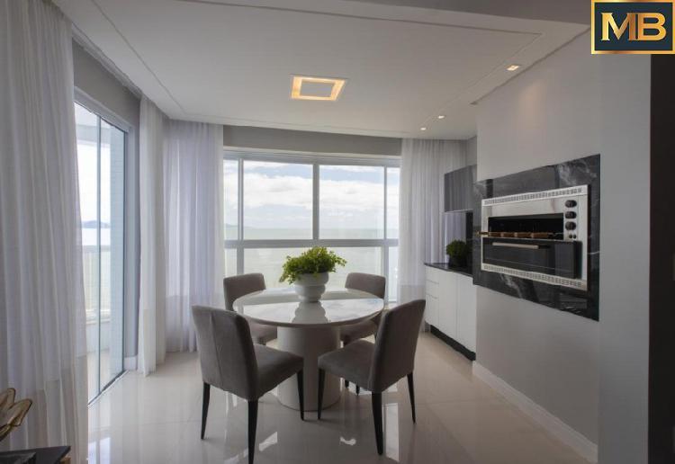 Frente mar, 3 suites, barra sul
