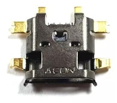 Kit 10 conector carga motorola moto maxx xt1225 xt 1225