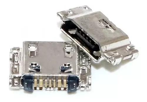 Kit c/10 conector de carga dock usb galaxy j5 j500