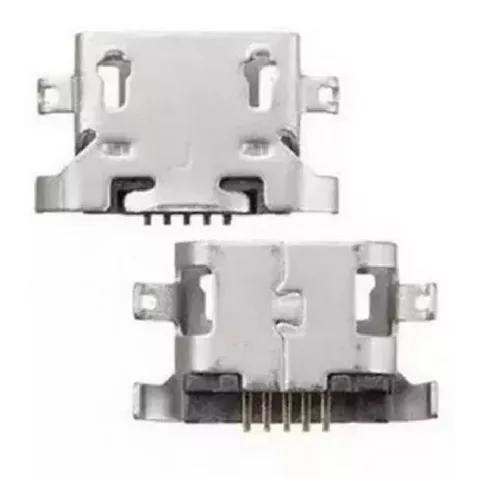 Kit c/10 conector de carga dock usb moto g5 xt1672