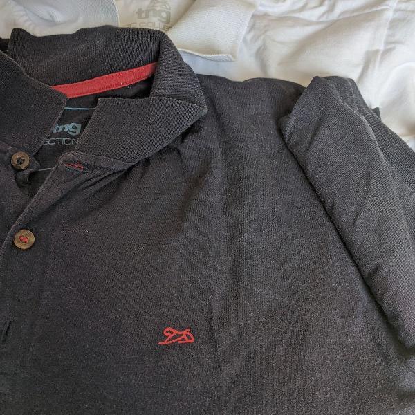 Kit duas camisetas gola polo tng