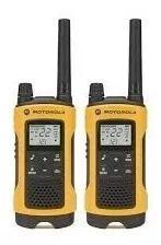 Par radio comunicador t400 motorola talkabout 56km