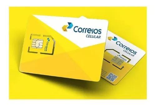 Promoção chip dos correios com 30 reais de crédito