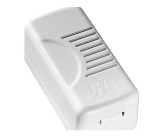 Protetor linha telefônica contra descargas atmosféricas