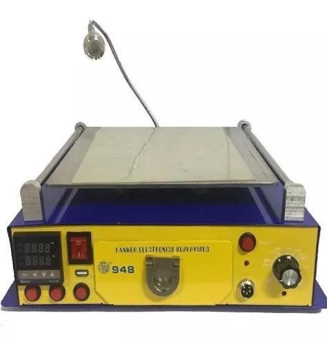 Separadora de lcd 948 com estufa hanker multifuncional 110v