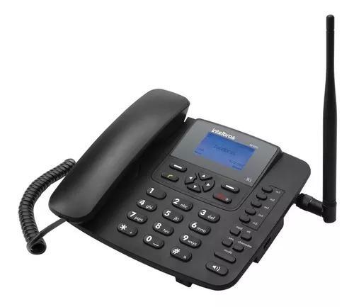 Telefone celular fixo 3g cf 6031 - intelbras