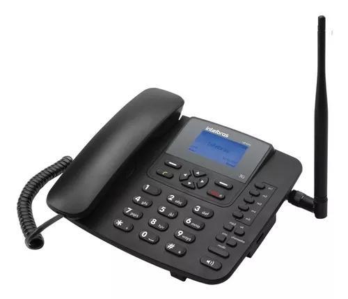 Telefone fixo rural 3g intelbras 6031 com acesso a internet