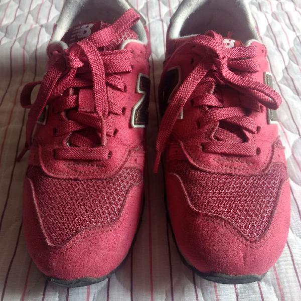 Tênis new balance rosa