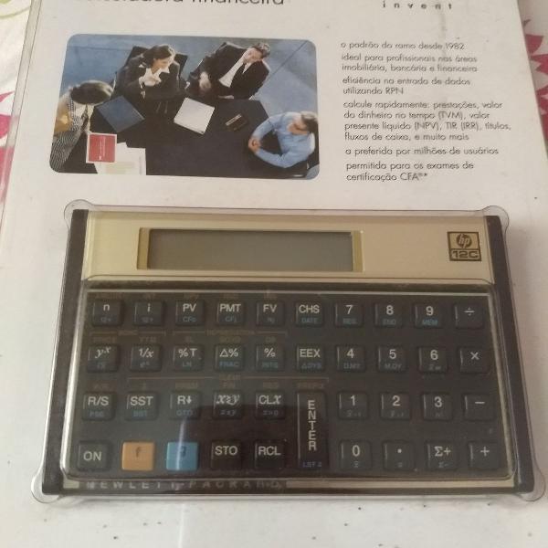 Calculadora científica original hp 12c