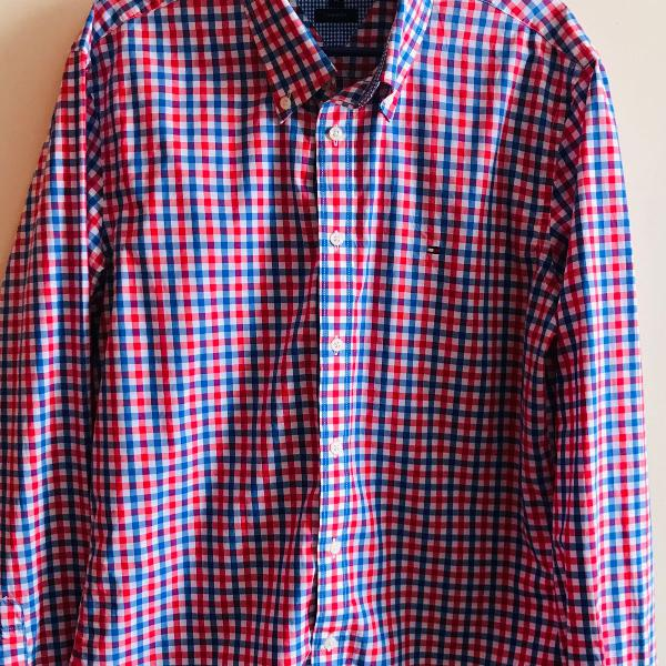 Camisa tommy hilfiger xadrez tam.m (linda!!!)