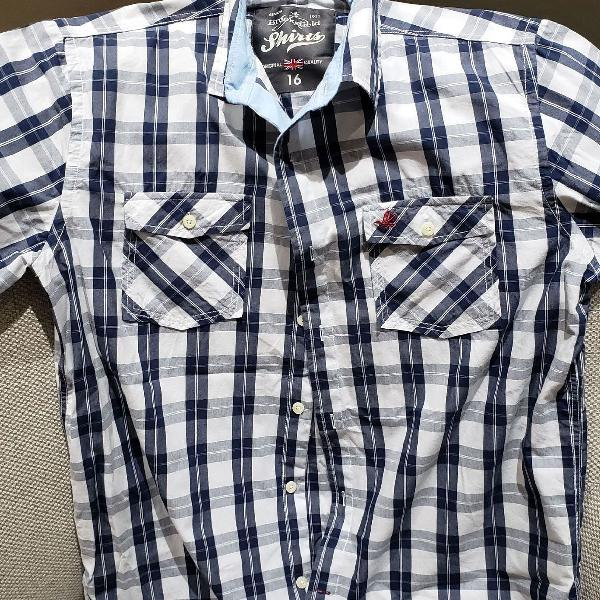 Camisa xadrez brooksfield