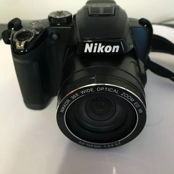 Câmera coolpix nikon p500