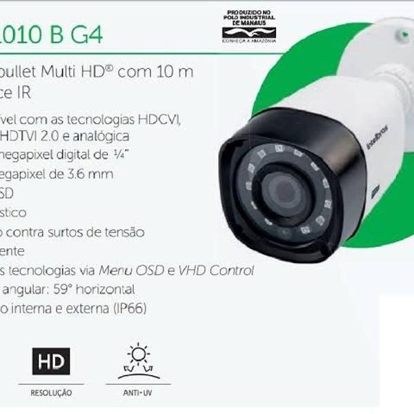 Câmera de segurança intelbras multi hd