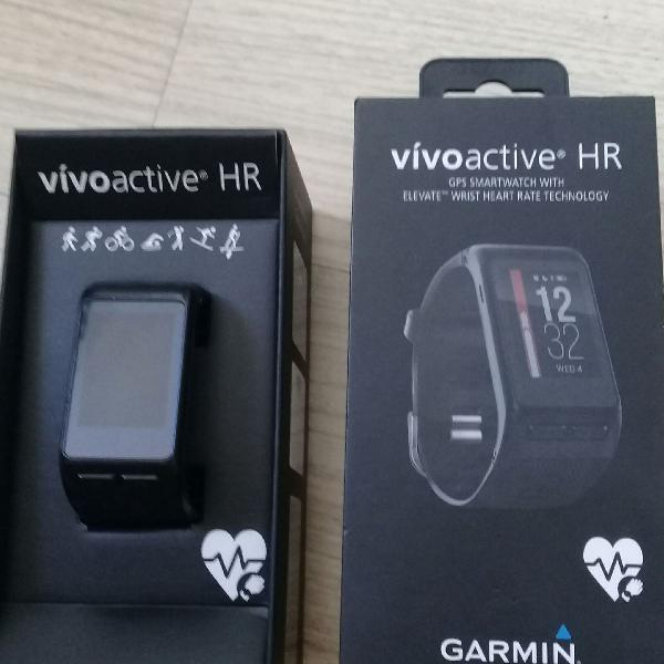 Relógio corrida garmin vivoactive