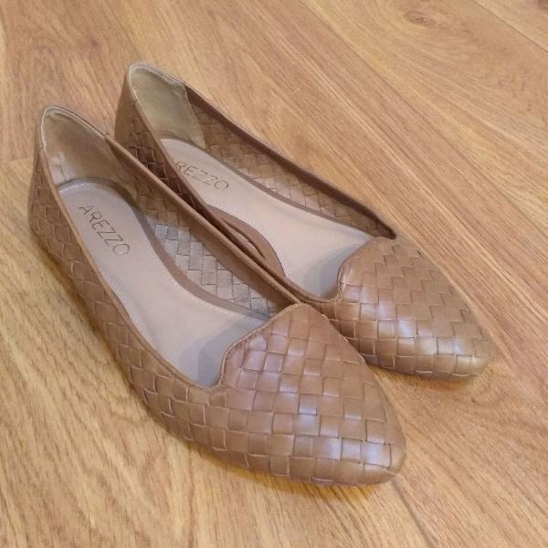Sapatilha slipper arezzo
