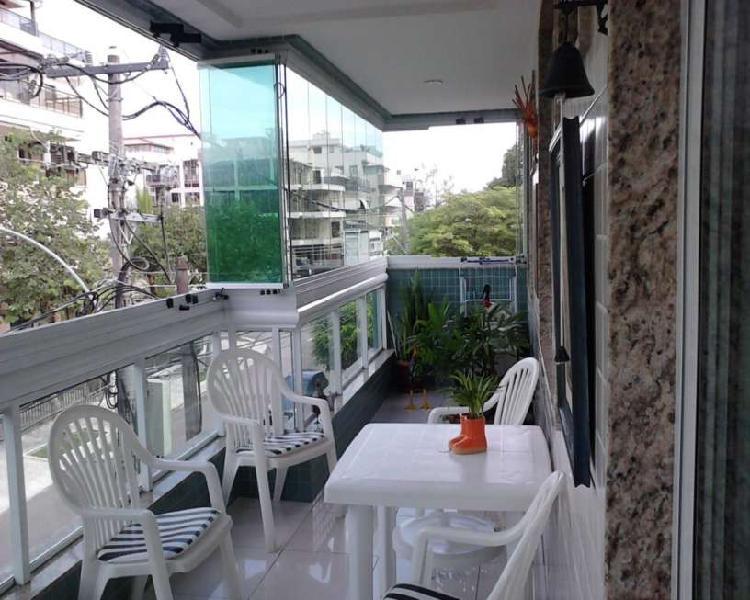 Apartamento residencial em rio de janeiro - rj, recreio dos