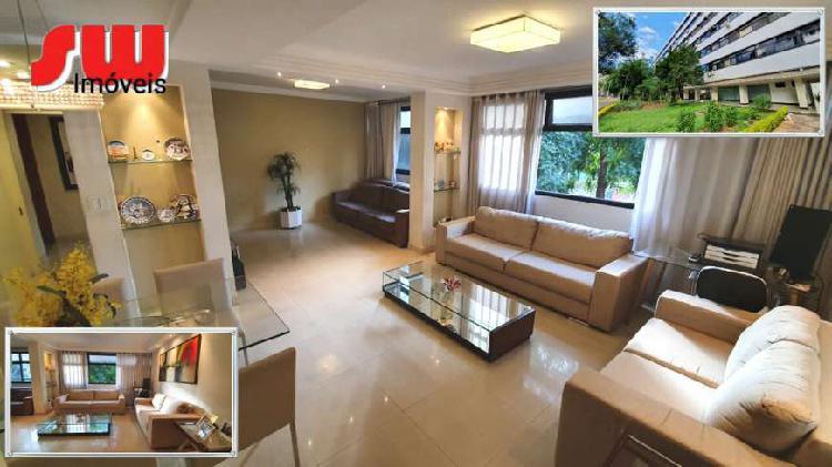 Apartamento 3 quartos com vaga reformado e vazado sqs 102