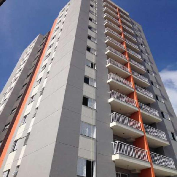 Apartamento com 54m², 2 dormitórios, terraço grill e 1